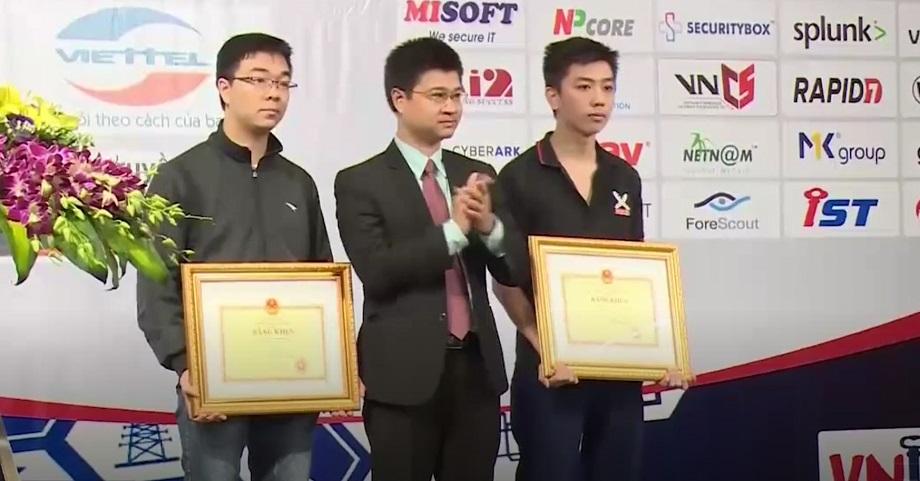 Trao giải thưởng 'Sinh viên về an toàn thông tin 2017'